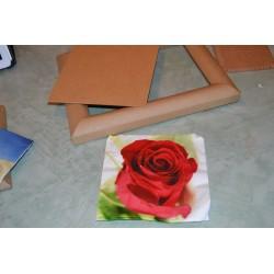 Plaque Médium 24 x 30 cm support pour Images 3 D ou support tableau peinture