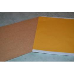 Feuilles adhésives transparentes double face 30x20 cm (2 feuilles)