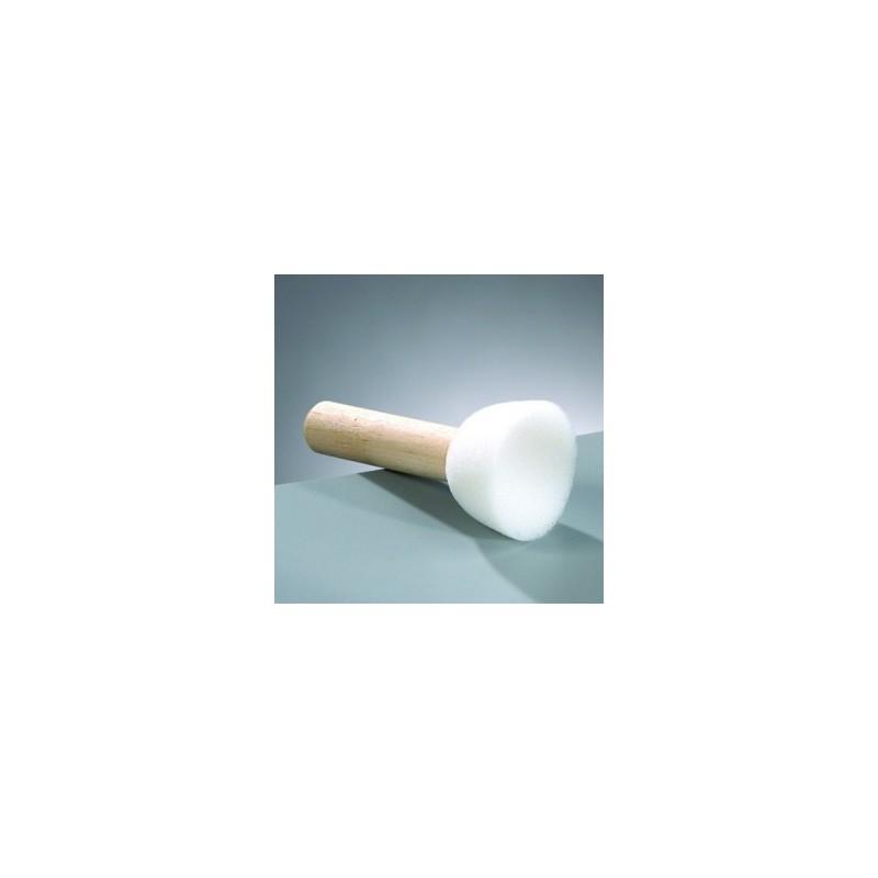 Pinceau  embout mousse Ø 4 cm (vendu à l'unité)