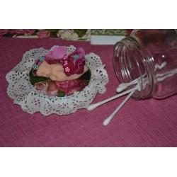"""Serviette en papier Collection Fleurs """"Dahlia"""" (vendue à l'unité)"""