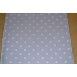 Serviette en papier : petits pois couleur mauve (vendue à l'unité)