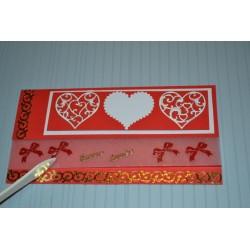 Planche stickers motifs Angles Argentés pour cartes embellissements