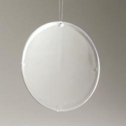 Paroi pour Boule en plastique diamètre 14 cm -  Suspension