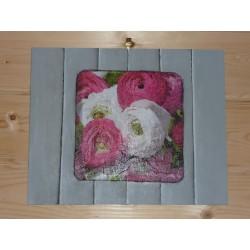 Plaque Médium 20 x 50 cm pour support images 3 D ou support tableau peinture