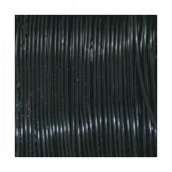 Fil de cuivre Noir ø 0.50 mm - 25 m