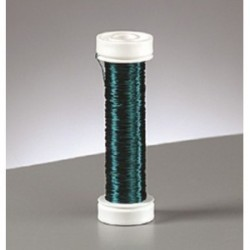 Fil en cuivre Vert 0.18 mm - 25 m