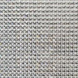 Strass Argenté autocollants - plaque de 400 pièces - 87mm x 87mm
