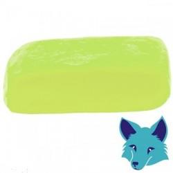 Porcelaine Froide Fox vert pomme, pâte séchant à l'air, pain de 250 gr