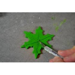 Emporte-Pièces forme étoile, flocon, Set 5 pièces différentes formes