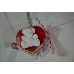 Sachets en Organza crème 12 x 17 cm, pour petits Cadeaux Précieux (lot de 5 sachets)