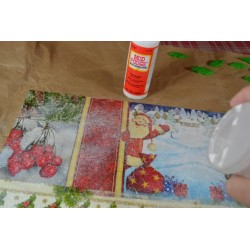 Poudre Pailletée extra fine, paillettes coloris Blanc Nacré, tube : 3 gr