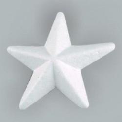 Etoile en  polystyrène  à customiser, grand modèle 20 cm, vendue à l'unité