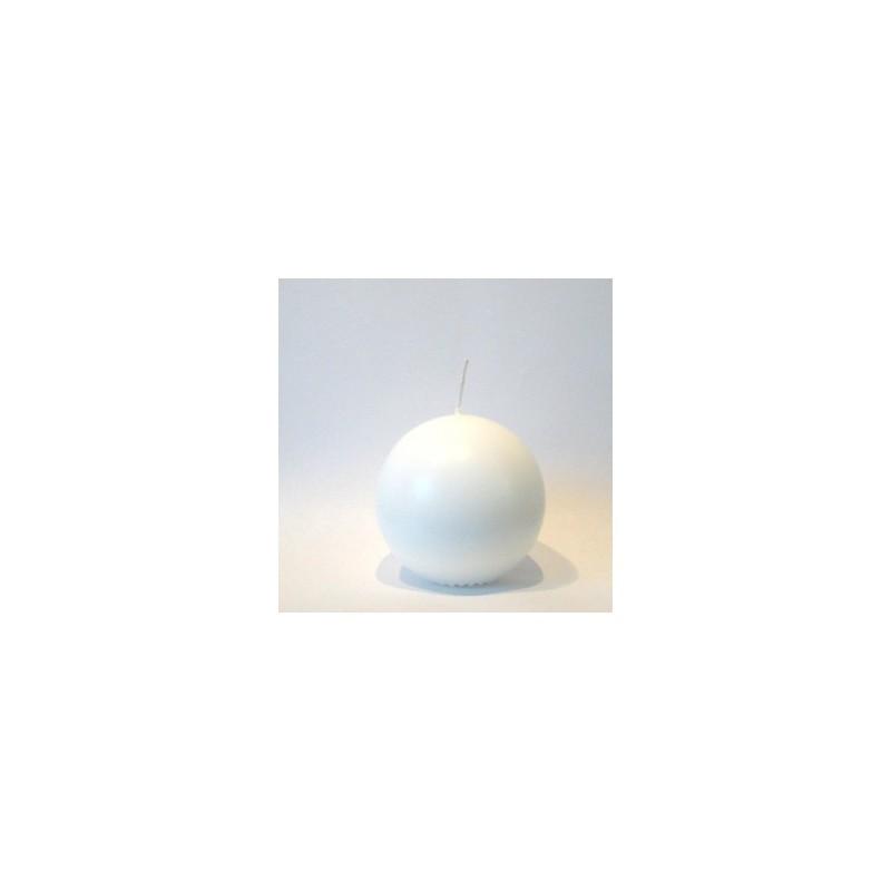 Bougie Boule Blanche   Ø  5cm  (vendue à l'Unité)