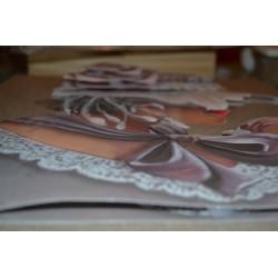 """Image 3 D  """"Coeur d'Ours"""" (24 cm x 30 cm) pour Tableau technique du 3D"""