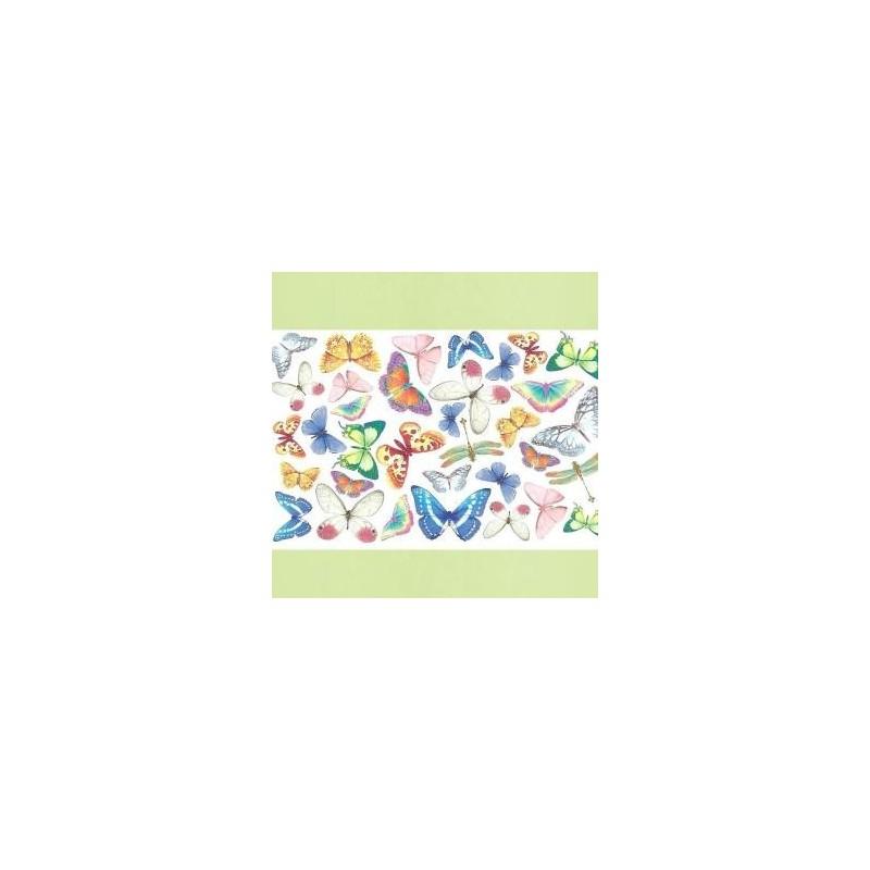 Plaque de Mousse thermoformable Imprimé Papillons (20 cm x 30 cm)