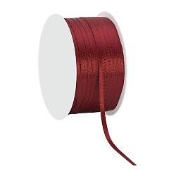 Ruban Satin   coloris Doré Rouleau : 3 mm x 10 m