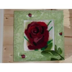 Laine Cardée à Feutrer 50 gr Rouge Carmin LNK3004