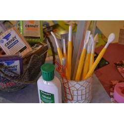 Outils de Modelage : stylet osselets et stylet cône/bulbe (2 pièces, 4 outils)