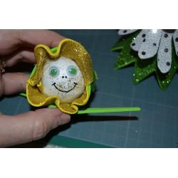 Boule polystyrène  (frigolite), légère et polyvalente (Mini : 4 cm) vendue à l'unité