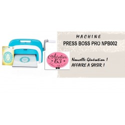 """Machine de Découpe Universelle """"Press Boss Pro"""" A4 avec Accessoires - Nellie Snellen"""