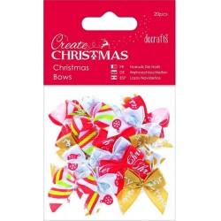 Noeuds assortiment Embellissements Christmas (Sachet 20 pièces )