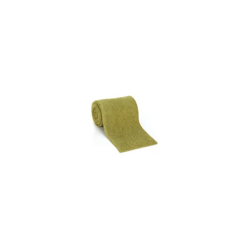 Ruban  Feutre de Laine - Feutrine - 100 % laine - Vert   largeur 13 cm (1m50)
