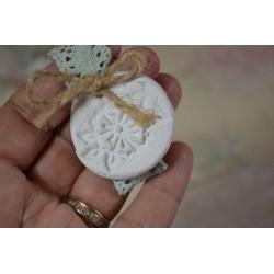 Dentelle Galon  Vague & fleur crème, 1 m pour utilisation couture mariage déguisement