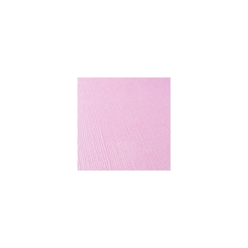 """Papier Texturé Scrap  Feuille  à l'unité rose """"Pétale de Rose"""" (30,5 x 30,5 cm)"""
