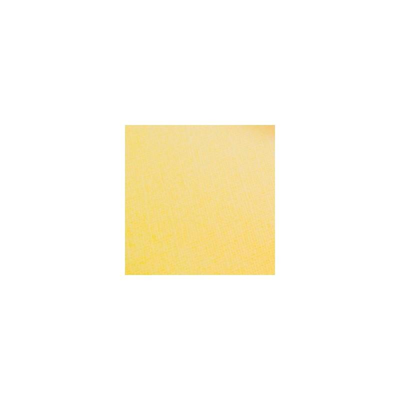 """Papier Texturé Scrap  Feuille  à l'unité Jaune très clair """"CHIFFON""""  (30,5 x 30,5 cm)"""