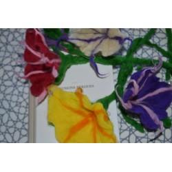 Laine Cardée à Feutrer 50 gr Rose Fushia LNK4009