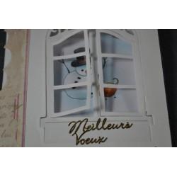 """Matrice de Découpe Fenêtre """"Window Two"""" Marque Spellbinders"""