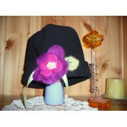 Laine Cardée à Feutrer  50 gr Violet LNK4014