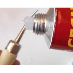 outil 3D  Blister N° 1 (outil à repousser : pose colle silicone ou rainurage  pâtes)