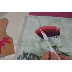 Couteaux Spatules Souples en plastique pour étaler, modeler ou peindre (set 5 pièces)