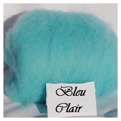 Laine Cardée à Feutrer 50 gr Bleu Clair LNK6015