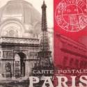 Serviette en papier Thème PARIS (vendue à l'unité)