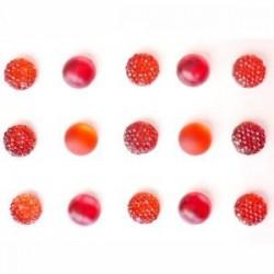 Strass Adhésifs Marron plaque de 140 pièces différentes dimensions