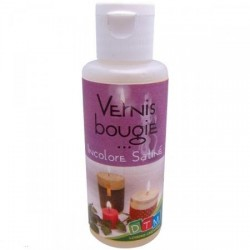 Vernis Colle Spécial Bougies,  Mat (50 ml)