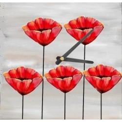 Horloge Support bois Médium à décorer (Livrée Sans mécanisme ! ) forme Théière