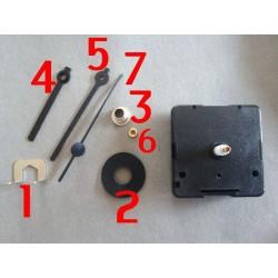 Mécanisme Horloge avec 3 Aiguilles,  déstokage - 15 %