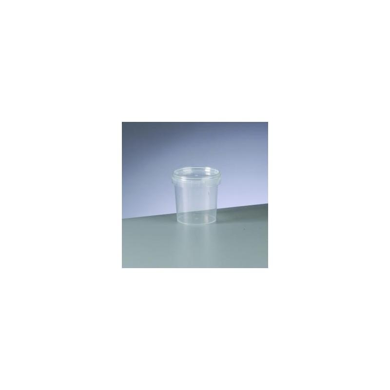 Pot pour mélange ou Boîte de rangement, avec couvercle, 155 ml, plastique (vendu à l'unité)