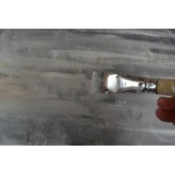 Pinceau plat Souple N° 12 synthétique Gr. 12/11 mm