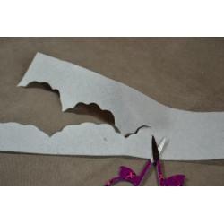 Paire de Ciseaux à broder Cigogne imprimé Noir et Blanc (9,5 cm)
