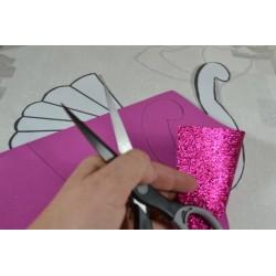 Ciseaux ergonomique, couture ou de loisirs créatifs, 20 cm