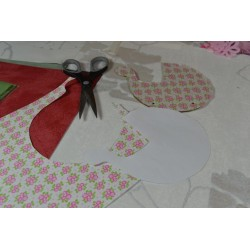 Ciseaux standard de couture ou de loisirs créatifs, 19,5 cm , lame acier