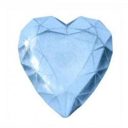 Moule Mini Thermoformé : Diamant Coeur