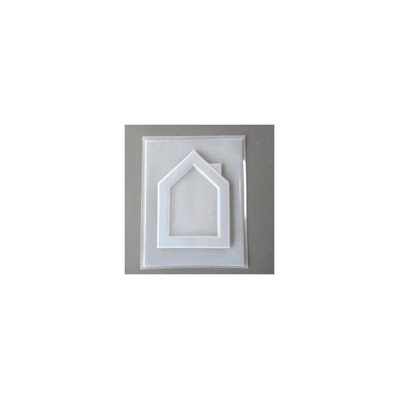 Moule Thermoformé cadre 1 Maison (13 x 17.8 cm)