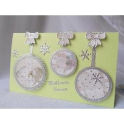 "Boutons Miniatures, 9 boutons ""Très Féminins"""