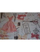 * Tissus Coupons de Couture & Mercerie | Atelier63silenceellecree