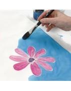* Peinture s/ SOIE de Beaux-Arts | Atelier63silenceellecree